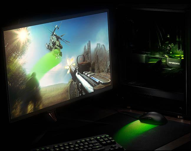 игровой процесс на видеокартах RTX 3060 Ti быстрый отклик