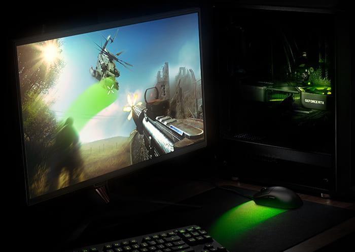 монитор компьютер видеокарта 3080 высокий FPS игровое решенеи