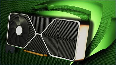 дизайн видеокарты Nvidia RTX 3090