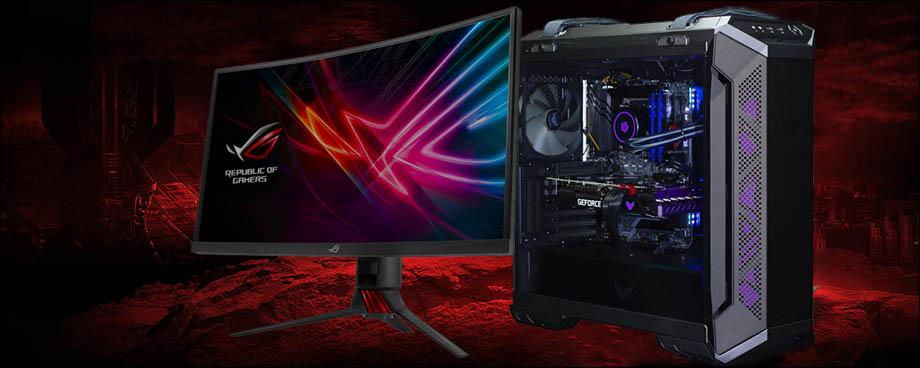 компьютер EDELWEISS ASUS TUF с монитором STRIX 32'
