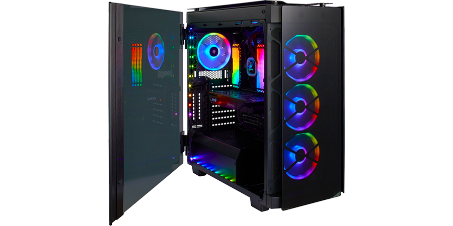 игровой компьютер в корпусе corsair в магазине EDELWEISS