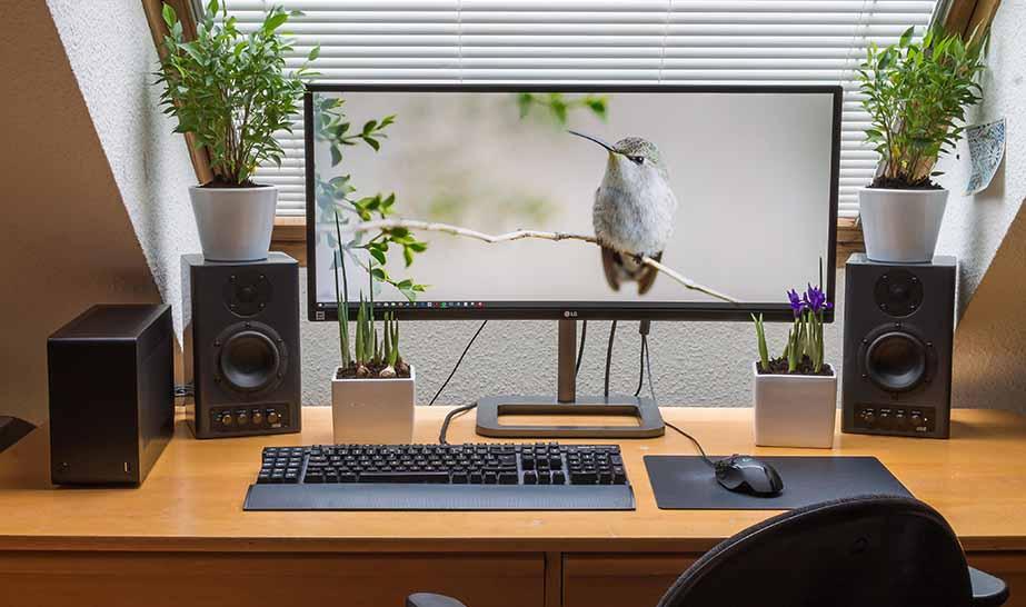 домашний компьютер для игр и работы в EDELWEISS