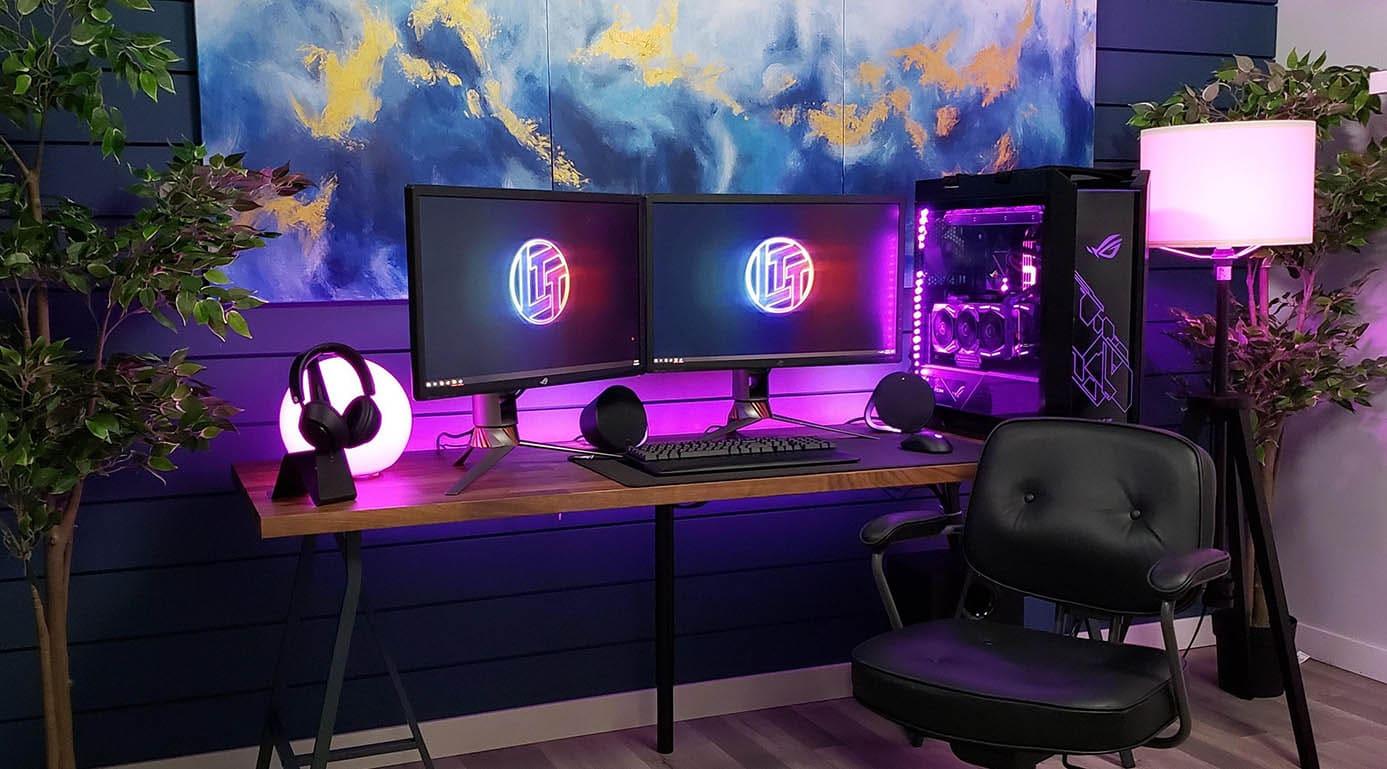 компьютер с низким уровнем шума в корпусе ASUS